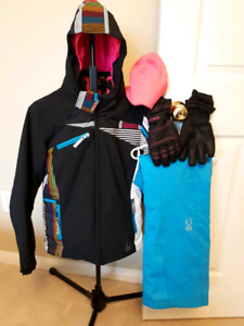 Spyder Ski Jacket and Pants - Junior