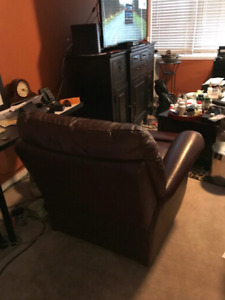 Leather Recliner x2 for $600