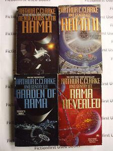 """Rama Series"" by: Arthur C. Clarke"