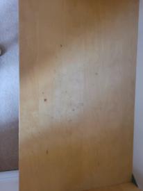 IKEA Borghamn Wooden TV stand