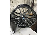 """BMW m3 csl e46 m sport alloy wheels 19"""" staggered brand new boxed 5120 BMW alloys"""