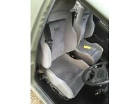 Escort rs turbo seats
