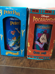 *New* Collectible Disney Peter Pan & Pocahontas Cups Burger King