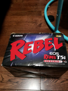 Box for canon T5i rebel eos