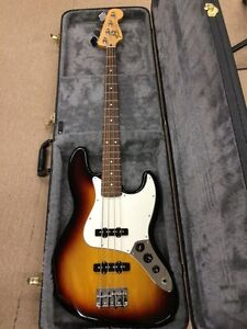 Fender Jazz Bass  (2011 - MiM) + Hardshell Case
