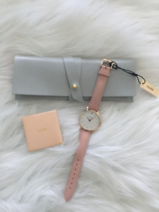 Brand New Pink Cluse Watch (LA VEDETTE ROSE GOLD WHITE/PINK)