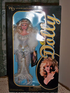 """""""Dolly"""" Doll, Licensed by """"Dolly"""" Parton -- Limited Edition,1996"""