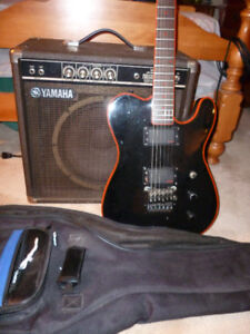 Washburn Tour24 Chicago guitar w/ Yamaha 25B amp