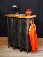 real industrial antique furniture