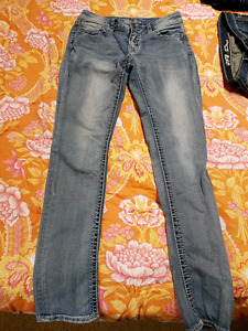 2 pairs of warehouse one jeans