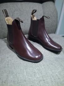 Loveson Grosvenor - Jodhpur Boots.