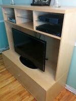 Meuble Télé IKEA  TV Console Playstation Bibliothèque