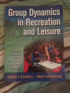Group Dynamics in Recreation and Leisure Kitchener / Waterloo Kitchener Area image 1
