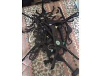 20 assorted clothes hangers FREE