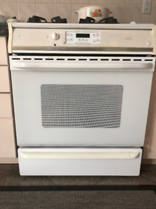 "30"" Frigidaire Gallery Gas Stove Oven, 4 Burners, Electric Owen"