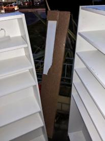 3x IKEA wall cabinets display home shop retail vape 1 brand new