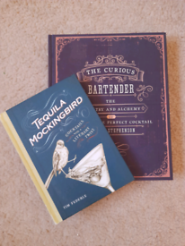 Bartenders cocktail books Tequila Mockingbird and The curious Bartende