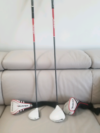 Taylormade superfast 2.0 burner driver and 3 wood