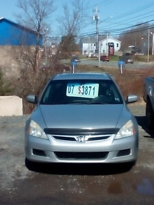 2007  HONDA ACCORD SE 5 SPD LOADED 2.3LTR. 4CYL $ 3550.