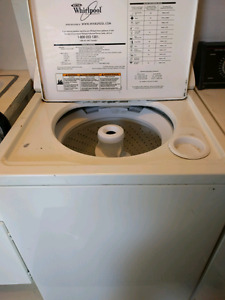 Used washer and dryer, dryer has no heat