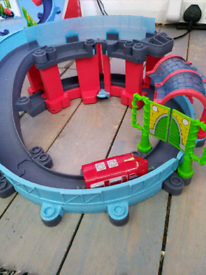 Chuggington track + Wilson train