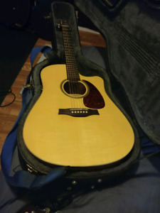 Seagull entourage natural spruce acoustic/eletric guitar