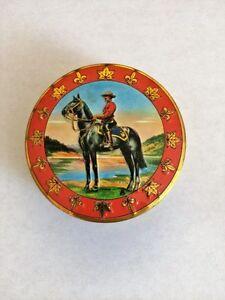 Mountie Bonbon tin