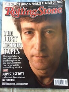 Magazine Rolling Stone-the lost lennon tapes