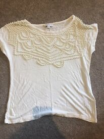 Size 8 beaded top