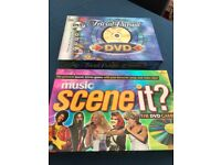 Trivial Pursuit DVD and Scene it DVD games