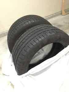 80-90% TREAD - SET OF GOODYEAR EAGLE LS-2 TIRES 245/45R17/95H