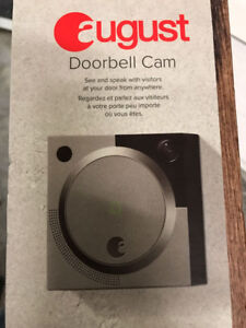 August Doorbell Cam – Brand New Silver