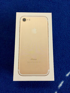 New iPhone 7 Gold $720 (reduced)