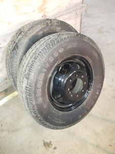 Dually Rims and Tires