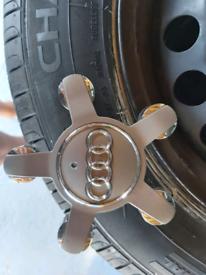 Audi /vw centre wheel caps x4