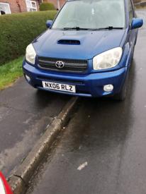 Toyota rav4 06 plate