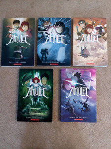 Amulet Book Set
