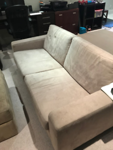 Condo-sized couch, perfect for student digs!