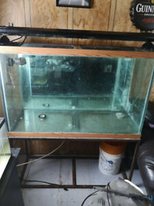 110 g tank and metal stand