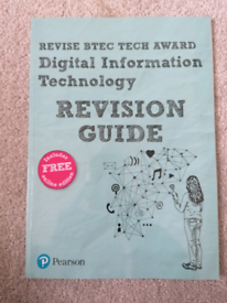 Pearson BTEC Digital Information Technology revision guide