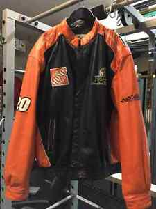 Authentic Leather Home Depot Tony Stewart Coat or trade