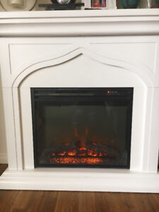 Gently Used Electric Fire Place