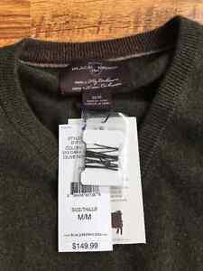 Black Brown 1826 100% Cashmere Sweater Stratford Kitchener Area image 2