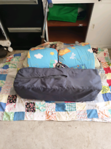 Portacot with mattress