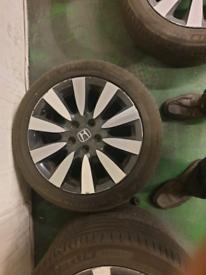 Honda 17 inch alloys