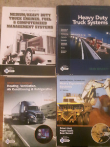 REDUCED First year Heavy duty/Commercial Mechanical Textbooks