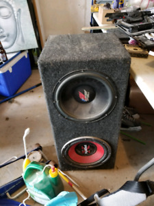 12 inch sub woofers - speakers in ported mdf box