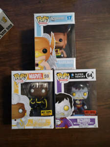 Funko pop Marvel, DC