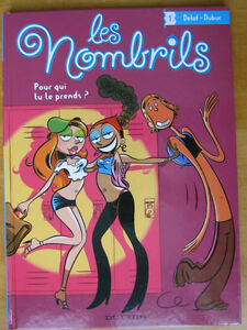 Collection BD Les nombrils (6 BDs + magazine)