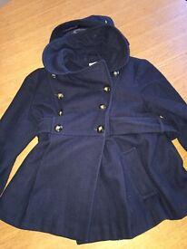 Topshop size 12 maternity coat